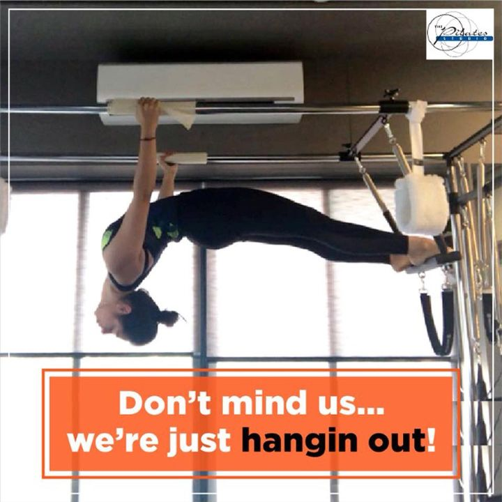 It's #FriYay!!   So wana hang out with us at #ThePilatesStudioAhmedabad ?😋🤸🏼‍♀️😉  Contact us for queries on: 9099433422/07940040991  www.pilatesaltitude.com