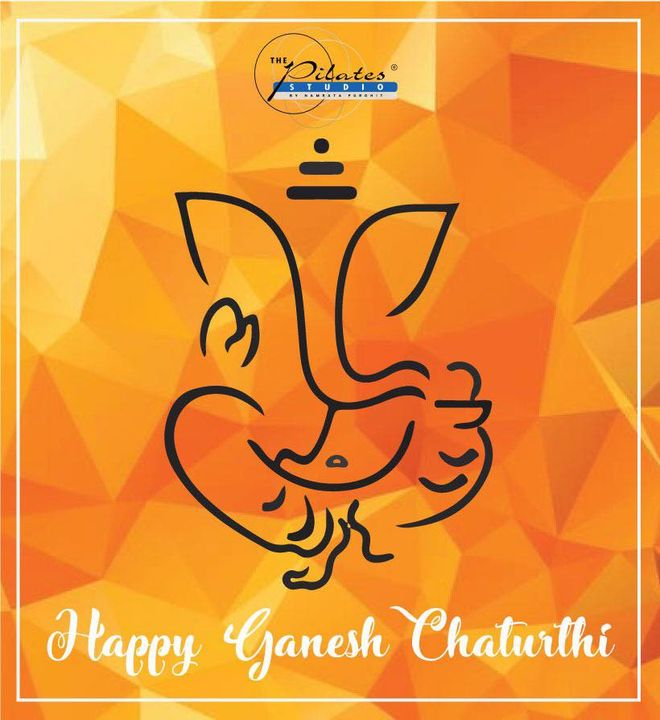 May Lord Ganesha bless you and your family with peace and happiness.   Happy Ganesh Chaturthi to all of you ✨