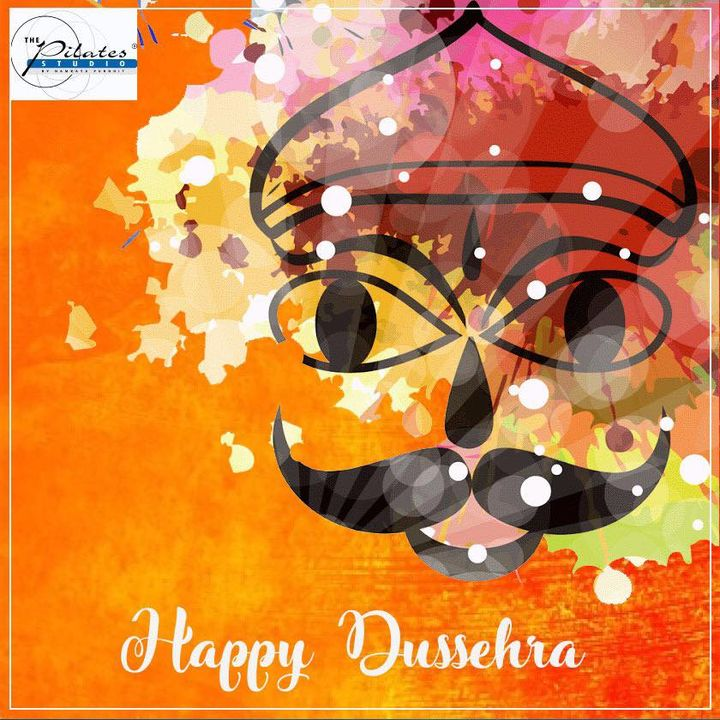 It's time to celebrate the victory of good over evil. Wishing all of you a very Happy Dussehra 💫 . . . #Festival #HappyDussehra #Navratri #dussehra2018 #Ahmedabad #Gujarat