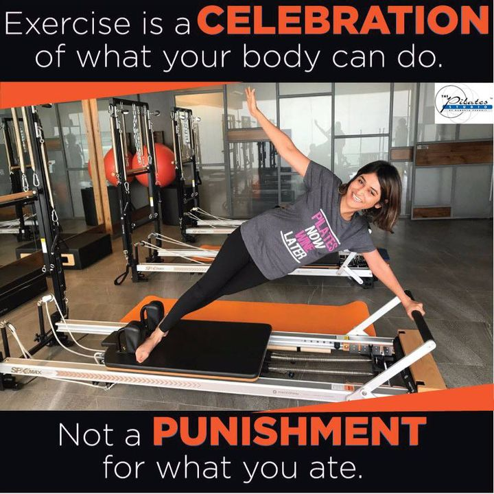 You're only one workout away from a good mood!👍  Don't undo the entire week's effort with your weekend binge.   Contact us for queries on: 9099433422/07940040991 www.pilatesaltitude.com . . . #Ahmedabad #Fitness #FitIndia #TrainSmart