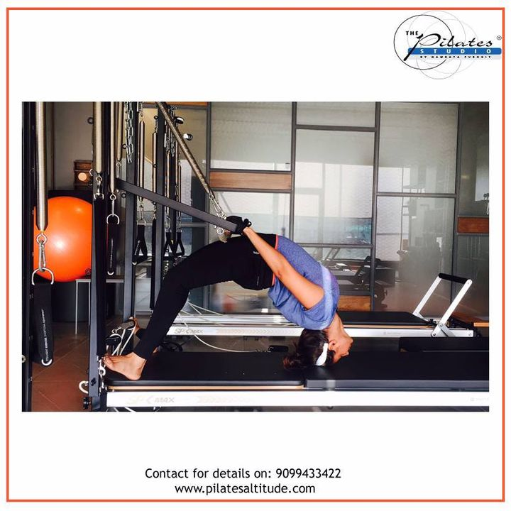 We bend, but DON'T break!💪  Contact us for queries on: 9099433422/07940040991 www.pilatesaltitude.com . . . #Ahmedabad #Fitness #FitIndia #TrainSmart