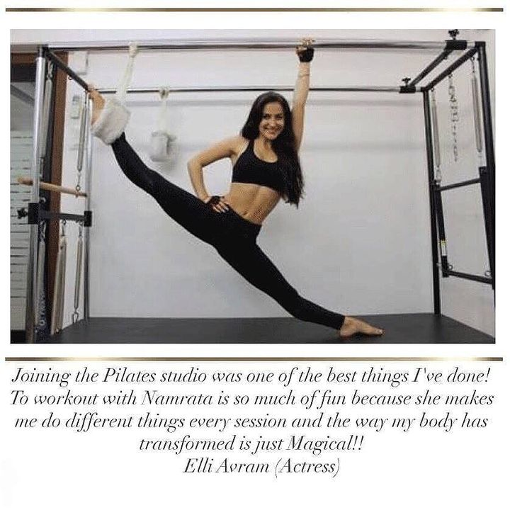 #SundayStories: Thank you to the lovely Elli AvrRam World for sharing with us how #Pilates at our studio has helped change her body!😄  She's truly experienced the Magic of Pilates 💓  Contact us for queries on: 090994 33422 www.pilatesaltitude.com . . . #Ahmedabad #AhmedabadFitness #Fitness #India #FitnessEnthusiast