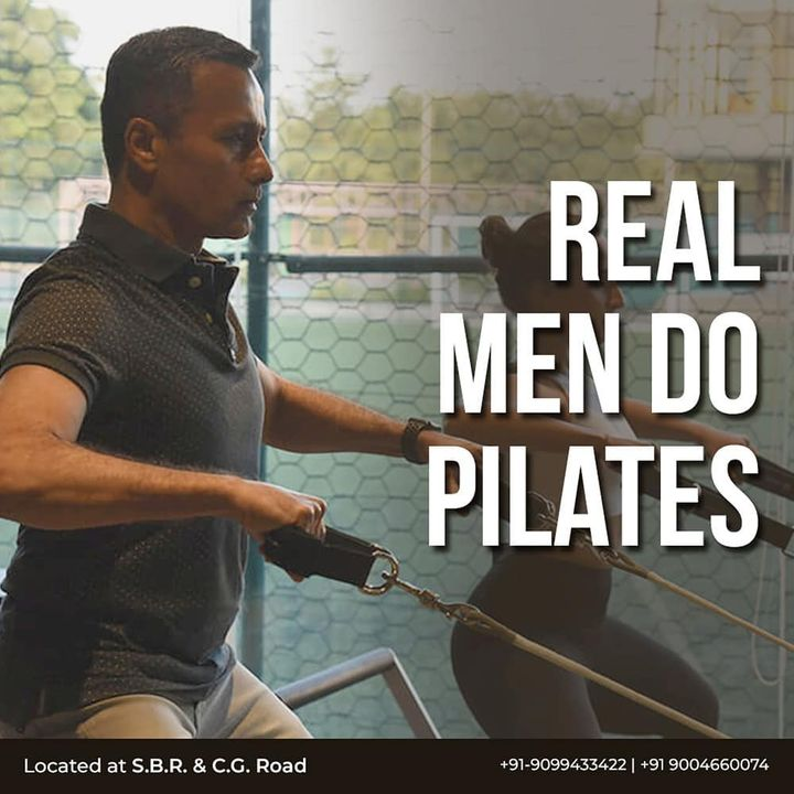 "#RealMenDoPilates: Discover the incredible benefits that Pilates has for men, whether they are professional athletes or just new to fitness. . . Pilates is a way of developing neglected muscle groups, balancing the muscles, mobilizing the spine, joints and improving posture. . . ""Pilates was created by a man for men."