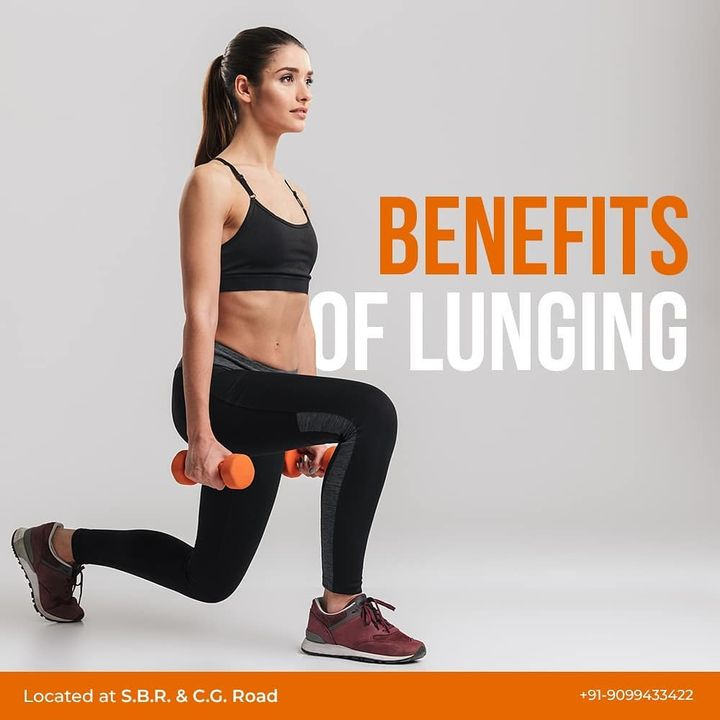 #WeekendWorkout: Lunges are quite effective in terms of strengthening your lower body, tissues, legs and glutes.🔥 . . Lunges target large muscle groups of your lower body; this boosts your metabolism and helps you lose weight much faster. When this excess fat is removed, lunges work on the shape and strengthens your lower body. . . Contact us for queries on: 9099433422/07940040991 www.pilatesaltitude.com . . .  #Pilates #PilatesCommunity #Fitness #FitnessEnthusiasts #HealthTips #EatHealthy #Stretch #WorkOut #ThePilatesStudio #Graceful #Relax #FitnessMotivation #InstaFit #StottPilates #FitnessStudio #Fitspo  #ThePilatesStudio #Strength #pilates #PilatesGirl #ahmedabaddiaries #Workout #WorkoutMotivation #fitness  #ahmedabad #india #igers #instaahmedabad
