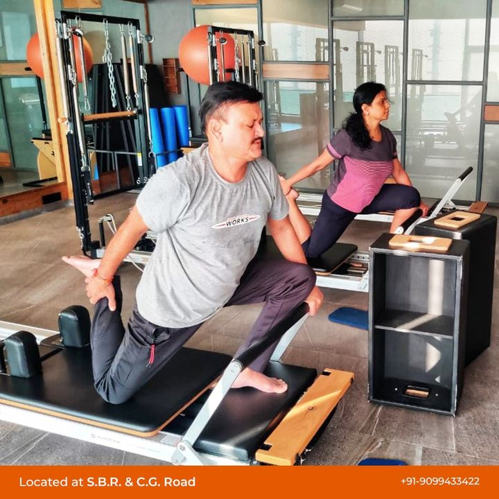 #MondayMotivation: A good day starts with a good workout 🔥 Keep it up 💪🏻 . . Contact us for queries on: 9099433412/ 9099433422/07940040991 www.pilatesaltitude.com . . .  #Pilates #PilatesCommunity #Fitness #FitnessEnthusiasts #HealthTips #EatHealthy #Stretch #WorkOut #ThePilatesStudio #Graceful #Relax #FitnessMotivation #InstaFit #StottPilates #FitnessStudio #Fitspo  #ThePilatesStudio #Strength #pilates #PilatesGirl #ahmedabaddiaries #Workout #WorkoutMotivation #fitness  #ahmedabad #india #igers #instaahmedabad