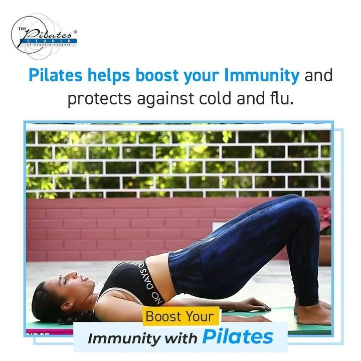 #BoostYourImmunity with #Pilates: Your immune system is essentially made up of the body's lymphatic system.  Lymph circulates through lymph nodes clusters spread throughout the body and is scanned and filtered by immune cells for viruses, bacteria and  other foreign matter.  However, in order for the lymph to be propelled through the body and go through the screening process, it relies on a couple of specific musculoskeletal muscles that act like a pump.  It is not an automated system like our cardiovascular system. Therefore, quite literally our ability to ward off virus and disease relies on the movement of two muscles in the body specific to Pilates!   Two Muscles that aid the Immune System:  1. The Transverse Abdominus -This deep layer of abdominals is activated in every Pilates movement to serve the greater health of the spine, as well as, to assist as an accessory pump to the lungs for strong healthy breathing and circulation. It is one of the essential muscles used pervasively in the Pilates Method. 2. The Calf Muscle - Essentially, every movement in Pilates by its very design is aiding in the movement of the lymph in your body, which is your innate immune system helping you stay healthy. Do you think Joseph Pilates understood this physiology connection on an intuitive level?  Absolutely.  There are many pilates exercises where the choreography includes utilizing the calf muscles layered with the abdominal usage that is fundamental to the Pilates Method.  Your immune system will be stronger because of your consistent Pilates routine to help you fight it, reduce its potency, quicker recovery, and get you back to feeling yourself.  Here's to strengthening your immunity and making it through the rest of the season healthy! . . www.pilatesaltitude.com . .  #Fitness #India #FitnessEnthusiast #Fitness #workout #fit #celebrity #InstaFit #FitnessStudio #Fitspo  #Workout #WorkoutMotivation #fitness  #pilatesgirl #pilatesbody #thepilatesstudio  #celebritytrainer #gettingbettereachday #fitnessforever #workhard #workhardplayhard  #igers #humfittohindiafit
