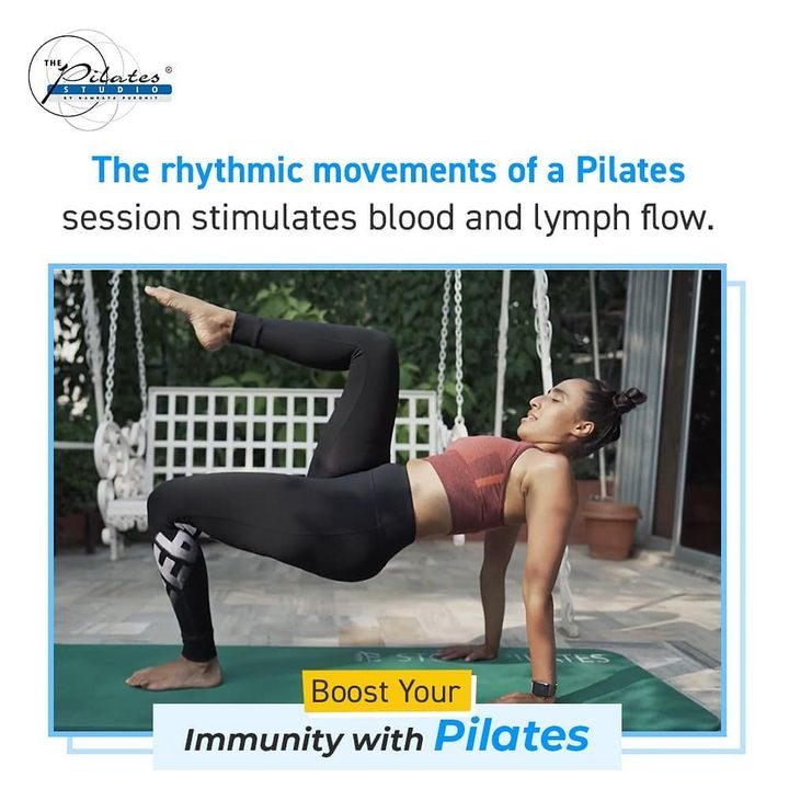 #BoostYourImmunity with #Pilates: Pilates classes can help boost immunity and protect against cold and flu.  Pilates is known for improving posture, joint mobility and core stability, pilates exercises also help your lymphatic and respiratory systems more efficient and crucial to your immune system. The rhythmic movements of a Pilates session stimulate blood flow and lymph flow. Throughout your Pilates class, as your muscles contract and release, lymph vessels are squeezed and lymph is pushed along and filtered through lymph nodes on its way back to the veins and the heart. . . www.pilatesaltitude.com . .  #Fitness #India #FitnessEnthusiast #Fitness #workout #fit #celebrity #InstaFit #FitnessStudio #Fitspo  #Workout #WorkoutMotivation #fitness  #pilatesgirl #pilatesbody #thepilatesstudio  #celebritytrainer #gettingbettereachday #fitnessforever #workhard #workhardplayhard  #igers #humfittohindiafit