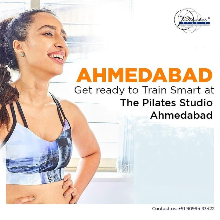 Pull out your workout clothes and get ready to do a series of movements that will stabilize and strengthen your core. 1day to go for the reopening of @thepilatesstudioahmedabad 💕 . . Contact us to book an appointment: 090994 33422 www.pilatesaltitude.com . . #Pilates #ThePilatesStudio  #CelebrityTrainer  #FitnessEnthusiast #Fitness #workout #fit #followtrain  #celebrity #InstaFit #FitnessStudio #Fitspo  #Workout #WorkoutMotivation #fitness  #pilatesgirl #pilatesbody  #followmeplease #igers #fitnessforever #workhard #workhardplayhard