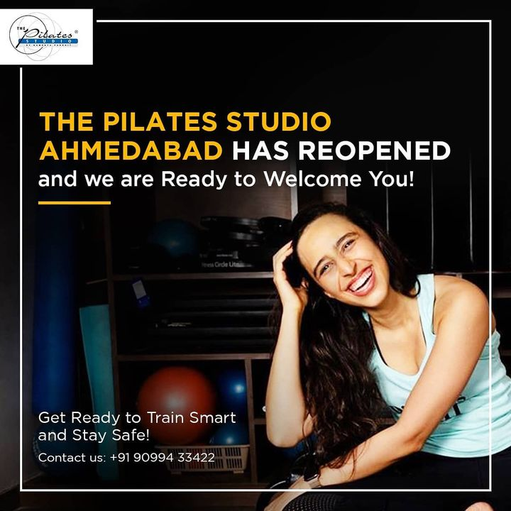 Pilates not only strengthens the bigger muscles of the body but also the smaller deeper muscles of the body! Developing and strengthening your body inside out!! . . Pilates classes at @thepilatesstudioahmedabad  will allow you to gain maximum benefits from each workout 💪🏼 . .  Contact us for queries on: 090994 33422 www.pilatesaltitude.com . . #Fitness #FitIndia #TrainSmart #Pilates #Exercise #BollywoodFitness #BollywoodFitnessTrainer #WeekdayMotivation #India #FitnessEnthusiasts #HealthTips #EatHealthy #Stretch #WorkOut #ThePilatesStudio #Humfittohindiafit  #strongwomen #FitnessMotivation #InstaFit #exercisemotivation #FitnessStudio #Fitspo #exercise #Strength #love #Workout  #instafitness #igers