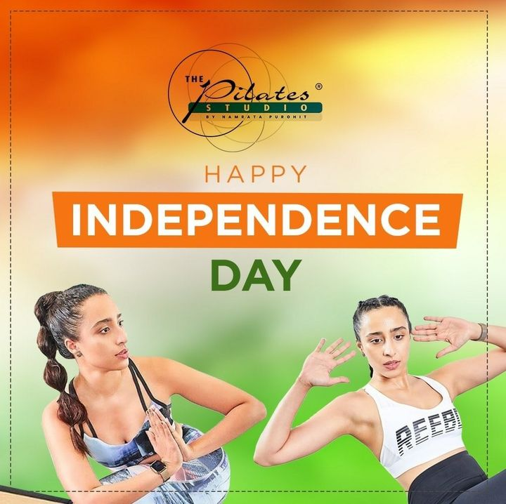 This #IndependenceDay, lets take a pledge to protect the peace, unity and the dignity of our great nation!  Saluting India for paving a road to a progressive nation!  Happy Independence Day! 🇮🇳 #JaiHind . . .  #Pilates #PilatesCommunity #Fitness #FitnessEnthusiasts #HealthTips #EatHealthy #Stretch #WorkOut #ThePilatesStudio #Graceful #Relax #FitnessMotivation #InstaFit #StottPilates #FitnessStudio #Fitspo  #ThePilatesStudio #Strength #pilates #PilatesGirl #freedom  #Workout #WorkoutMotivation #fitness  #independenceday🇮🇳 #india #igers #happyindependenceday #indianindependenceday