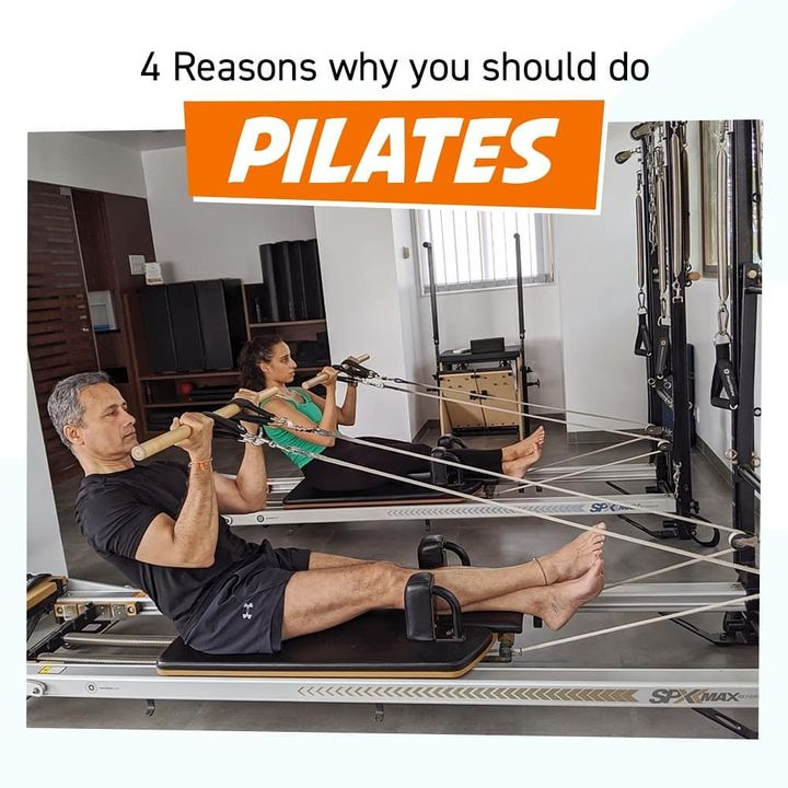 Pilates is not about being better than someone else, its about being better than you used to be! Check out the 4 most important reasons why you should incorporate Pilates in your daily routine. . . Call/Message/WhatsApp on 90994 33422 to book your session or become a member. www.pilatesaltitude.com  . . .  #Pilates #PilatesCommunity #Fitness #FitnessEnthusiasts #HealthTips #EatHealthy #Stretch #WorkOut #ThePilatesStudio #Graceful #Relax #FitnessMotivation #InstaFit #StottPilates #FitnessStudio #Fitspo