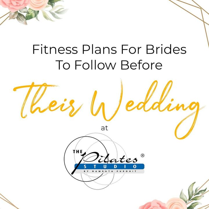 When your wedding day is only a few weeks away, you know you need to get into shape. But the stress of it all, and the responsibilities of being the bride can weigh down on you. Honestly, a month before your wedding is very crucial and we know you're looking for a fitness plan before the wedding bells come ringing.    You need to look after yourself holistically to ensure that you look like a true 'pataka.' Come join us and we will guide you through a holistic plan and make sure you look fitter than ever on your D Day!  . .  Contact us for queries on: 9099433422/07940040991 www.pilatesaltitude.com . . . #Pilates #PilatesCommunity #Fitness #FitnessEnthusiasts #HealthTips #EatHealthy #Stretch #WorkOut #ThePilatesStudio #Graceful #Relax #FitnessMotivation #InstaFit  #FitnessStudio #Fitspo  #ThePilatesStudio #Strength  #PilatesGirl #Workout #WorkoutMotivation #fitness  #india #igers #pilatesforbrides #bridetobe #wedding #weddingbells #fitnessforbrides