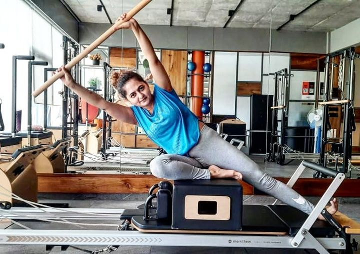 Pilates helps relieve stress, anxiety and depression. You know that
