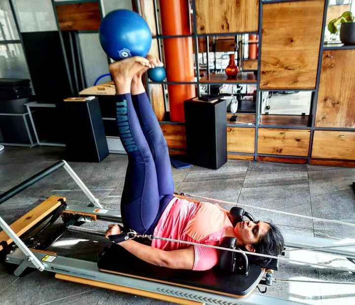 Pilates -- Motivates, Moves & Heals. It is a beautiful form of exercise that builds physical strength, flexibility & sharpens mental awareness through the use of special equipment. Come, experience the magic of Pilates at @thepilatesstudioahmedabad . . . Book your SLOT now : 9099433422/07940040991 www.pilatesaltitude.com . . . . #Pilates #ThePilatesStudio #Fitness  #CelebrityTrainer #YoungestCelebrityInstructor #FitnessEnthusiast #Fitness #workout #fit #followtrain #hyderabad #celebrity #InstaFit #FitnessStudio #Fitspo  #Workout #WorkoutMotivation #fitness  #pilatesgirl #pilatesbody #thepilatesstudio #followmeplease #igers #fitnessforever #workhard #workhardplayhard