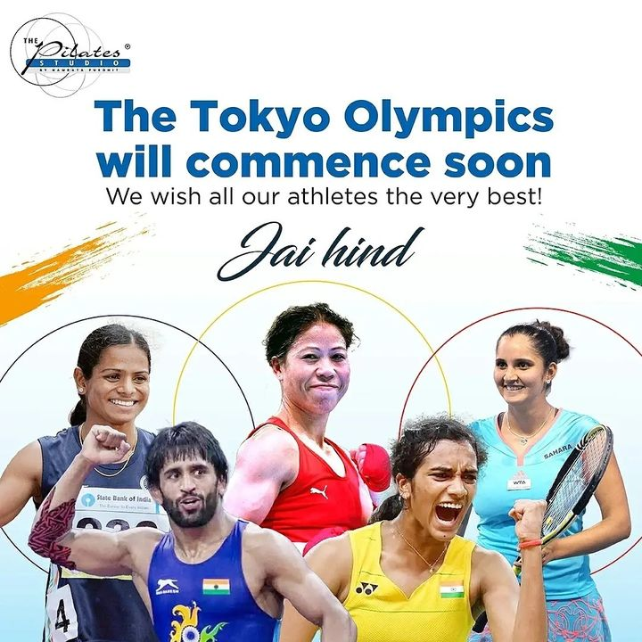 The largest-ever squad of Indian athletes is set to compete across a whopping 18 sporting disciplines. The contingent consists of a number of seasoned campaigners coupled with some first-timers, all of whom are determined to make a mark at the Games. The #TokyoOlympics will commence soon.  We wish all our athletes the very best! We #Cheer4India Jai Hind 🇮🇳  . . . Pilates #PilatesCommunity #Fitness #FitnessEnthusiasts #HealthTips #EatHealthy #Stretch #WorkOut #ThePilatesStudio #Graceful #Relax #FitnessMotivation #InstaFit #StottPilates #FitnessStudio #Fitspo  #ThePilatesStudio #Strength #pilates #PilatesGirl  #Workout #WorkoutMotivation #fitness  #india #igers