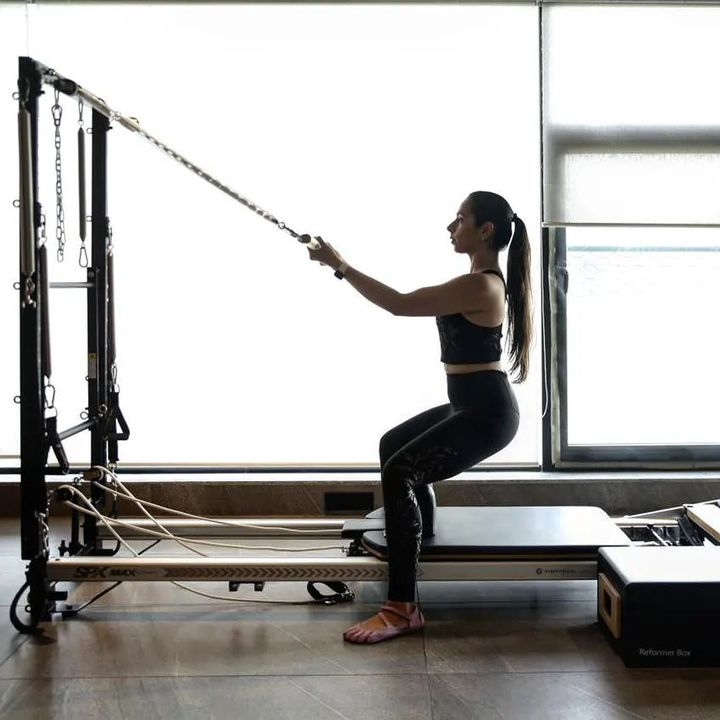 """""""The difference between the impossible and the possible lies in a person's determination."""" —Tommy Lasorda . . Dm us for details. www.pilatesaltitude.com . . . . #Pilates #PilatesCommunity #Fitness #Stretch #WorkOut #ThePilatesStudio  #FitnessMotivation #InstaFit #FitnessStudio #Fitspo  #ThePilatesStudio #Strength #pilates #Workout #WorkoutMotivation #fitness  #india #igers #insta #fitnessjourney #beingfit #healthylifestyle #fitnessfreak #celebrity #bollywood #celebritytrainer #healthy #staysafe #stayhome"""
