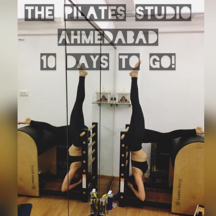 THE COUNTDOWN BEGINS!   10 days to go for the launch of The Pilates Studio in Ahmedabad! We are super excited!!   Ahmedabad - We can't wait to start!
