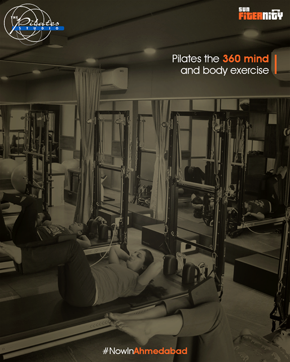Pilates the 360 mind and body exercise !  That's right, Pilates is an exercise to tone the core muscles and make your body more stable and balanced. It not only works for your body but practicing Pilates regularly will relax your mind as well.