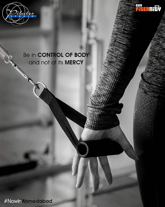 Be in control of body and not at its mercy !  Pilates is the correct remote.