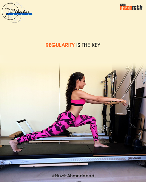 Doing Pilates with regularity will show exceptional results on your body.