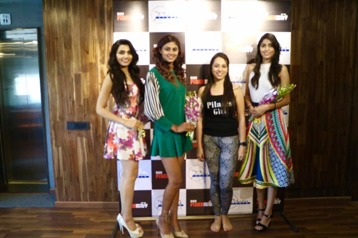 We had a Great time with the Femina Miss India #Gujarat finalists Amardeep Kaur Syan, Prachi Solanki and Shalu Ojha at the Studio.  Wishing them good luck for the West Zone Crowning Ceremony!