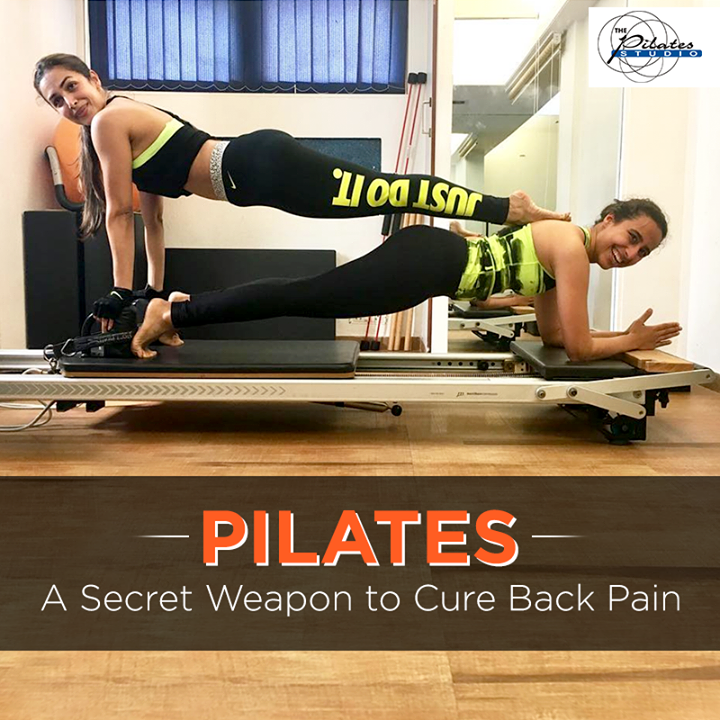 If you're suffering from back pain, it is about time you hit #ThePilatesStudio. Here's why:- http://bit.ly/2rbfqor  Contact us for queries on:9099433422/07940040991 http://www.pilatesaltitude.com