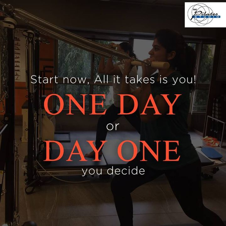 There is no special time or an auspicious day to start what you want to do.  Start now. All it takes is YOU.  Contact us for queries on: 9099433422/07940040991 http://www.pilatesaltitude.com/