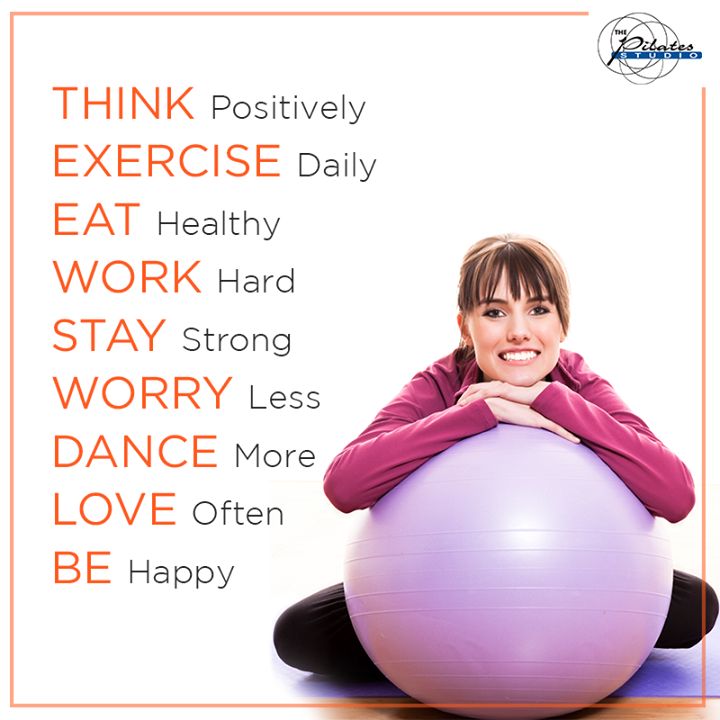 9 Rules to a Happy and Healthy Life! Follow these and you will never complaint! :D  Contact us for queries on: 9099433422/07940040991 http://www.pilatesaltitude.com/