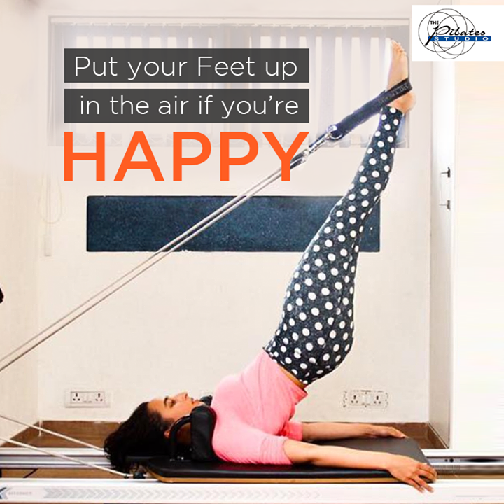 #HappinessAlert: Exercise has been known to cause Health & Happiness! <3  Contact us for queries on:9099433422/07940040991 http://www.pilatesaltitude.com/