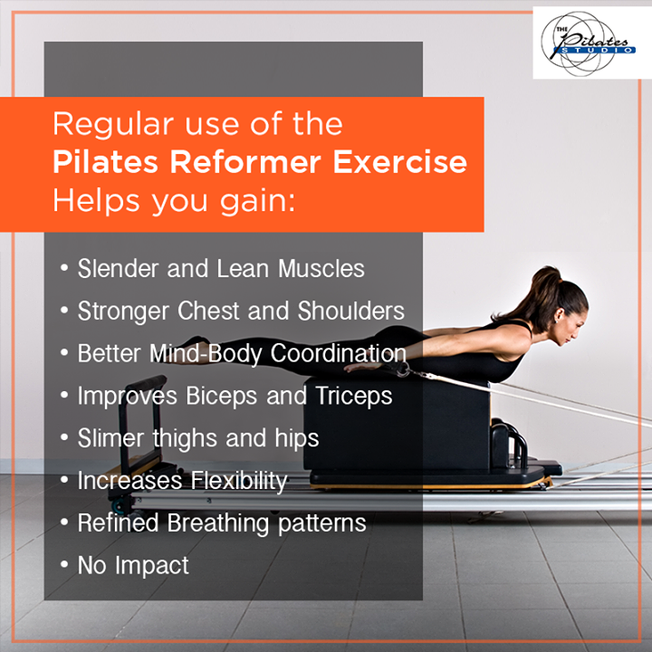 The reformer makes a dramatic impression when you first see one, and an even more dramatic change in the body when you use it.  The reformer offers all the hallmark benefits of Pilates including overall strength, flexibility, coordination, and balance.  Here are a few more listed below:  Contact us for queries on: 9099433422/07940040991 http://www.pilatesaltitude.com/