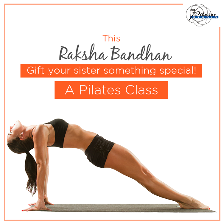 This #RakshaBandhan celebrate the sibling love with the best gift.   While rakhi symbolizes a promise to protect your sister, gift her something special - A Pilates Class to make her stronger, healthier & fitter! :)   Contact us for queries on: 9099433422/07940040991 http://www.pilatesaltitude.com