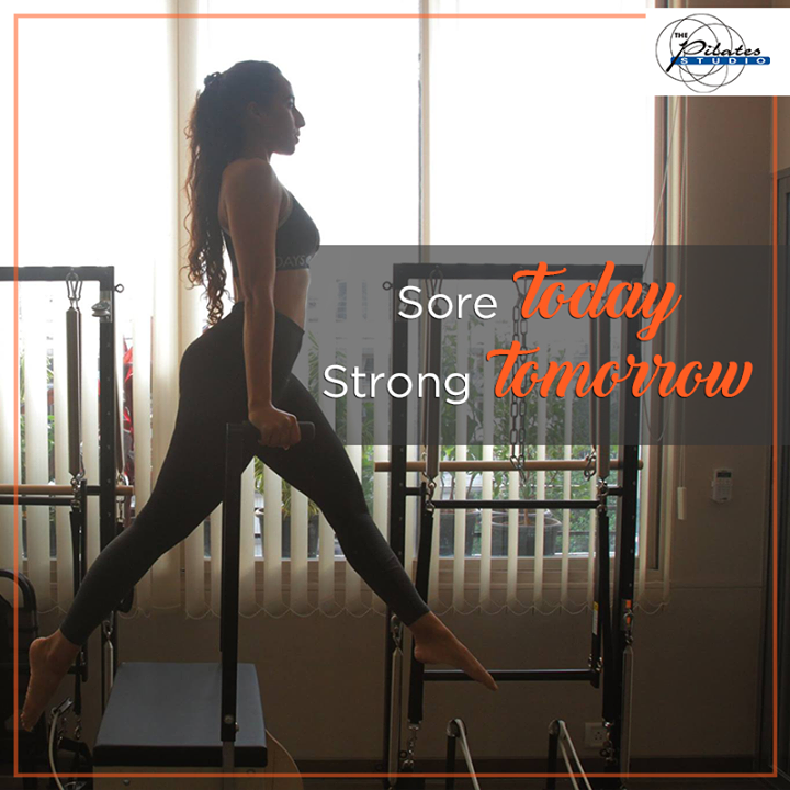 #PilatesoClock - C'mon now - it's a new week.   Start it right with no Excuses! #GoWorkOut  Contact us for queries on: 9099433422/07940040991 http://www.pilatesaltitude.com/