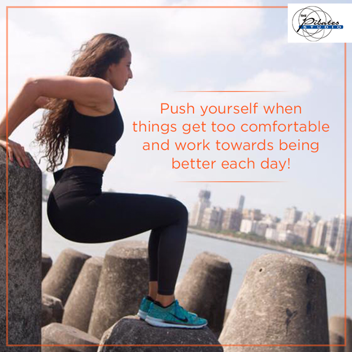 You can. And you will. You just have to believe in yourself. #BelieveToAchieve #DoIt  Contact us for queries on: 9099433422/07940040991 http://www.pilatesaltitude.com/