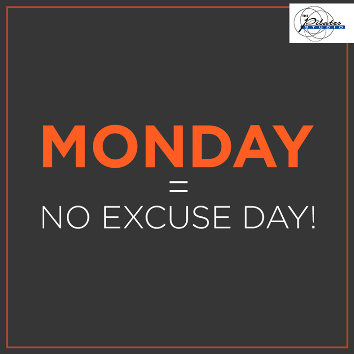 Rule #1 to working out - Never skip Monday! coz Mondays belong to the Go - Getters :D   Contact us for queries on: 9099433422/07940040991 http://www.pilatesaltitude.com/