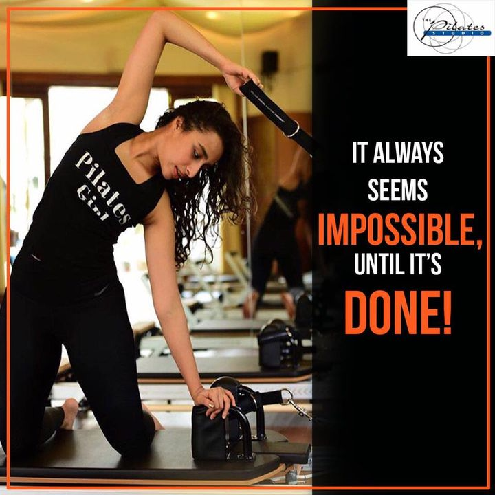 #MondayMotivation: Only hard work and dedication are the keys to success. 💪🏼  Change never comes easy but it is always within reach. Give your 100% and see the transformation! 🏃🏼🤸🏼♀️  Contact us for queries on: 9099433422/07940040991 www.pilatesahmedabad.in