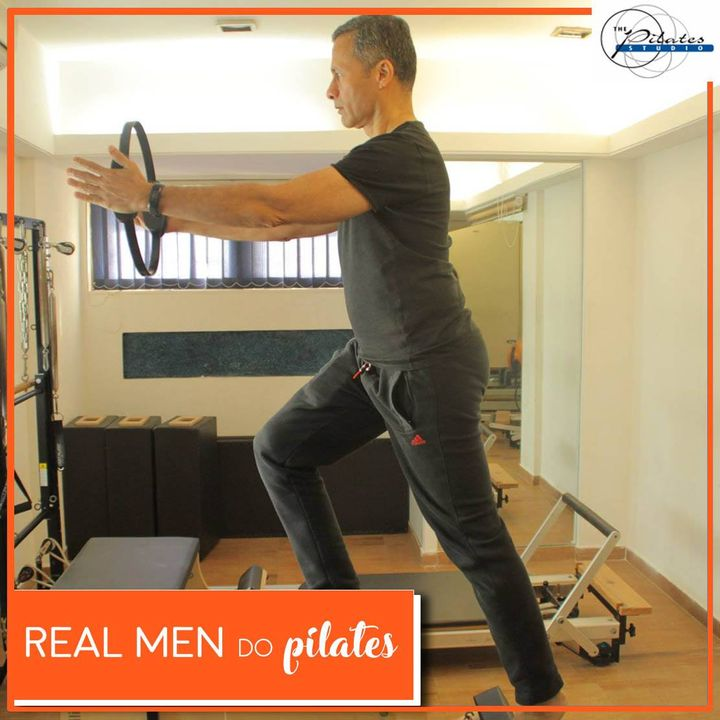 #RealMenDoPilates: #Pilates was and designed by a man, for men at war. 💪🏼  #JosephPilates developed his method of exercise, originally called #Contrology, to rehabilitate German Soldiers during the First World War.💂🏻‍♀️  Many famous male professional athletes and celebrities, such as #DhawalKulkarni (Indian Cricketer), Srikanth Kidambi (Badminton Player), Varun Dhawan (Actor), Yuvraj Walmiki (Indian Hockey Player) have added Pilates to their training program to enhance their strength, coordination and flexibility by developing these core muscle areas.🤸🏼‍♀️  Contact us for queries on: 9099433422/07940040991 www.pilatesahmedabad.in