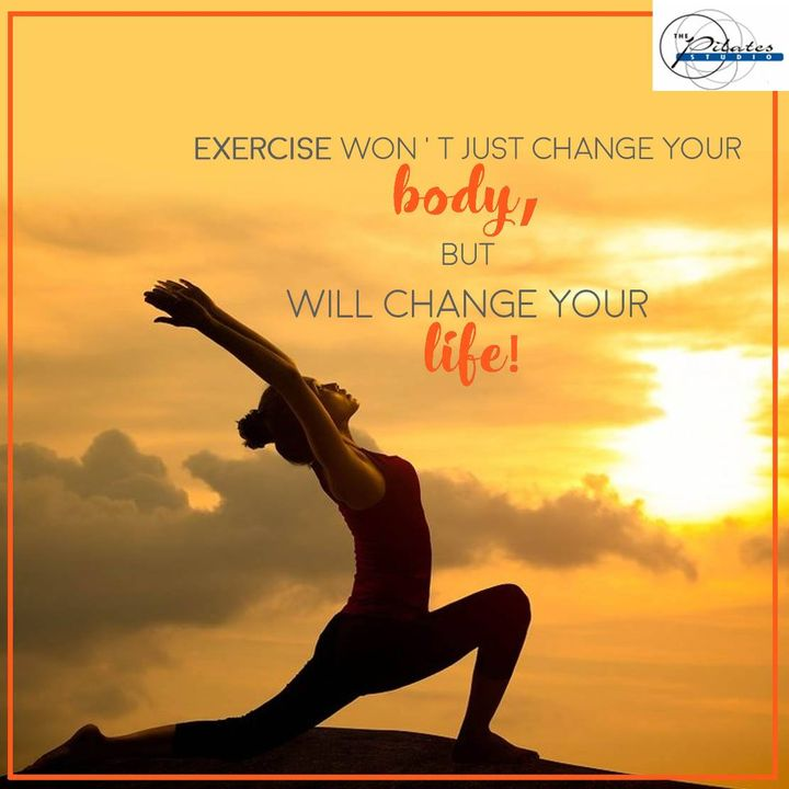Here's some Monday Motivation for you!  Start your journey towards getting healthy. Start Now. :)  Contact us for queries on: 9099433422/07940040991 www.pilatesahmedabad.in