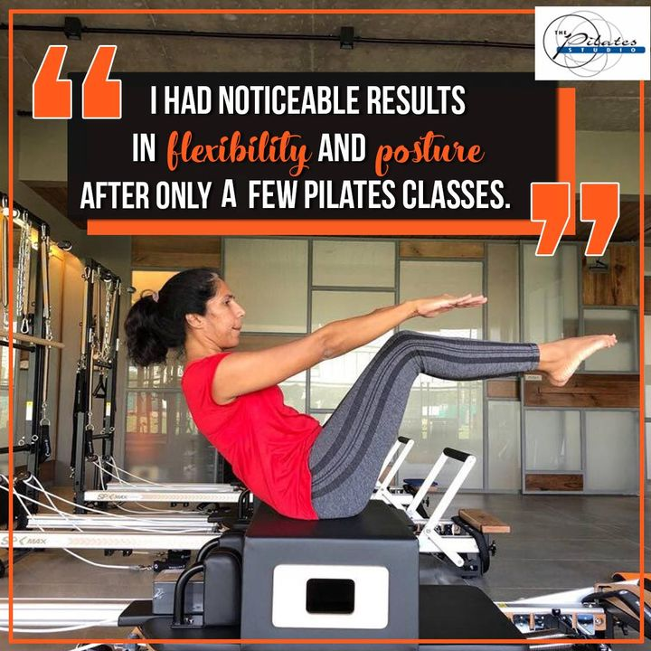 #ClientDiaries: Nehal Dalal is on her way to becoming a #PilatesGirl! 🤸🏼♀️  She is determined to stay in shape and seems to have lost quite a few pounds! 💪🏼  Here's what she has to say about Pilates and how it has helped her come a long way! 👇🏻  Contact us for queries on: 9099433422/07940040991 www.pilatesahmedabad.in