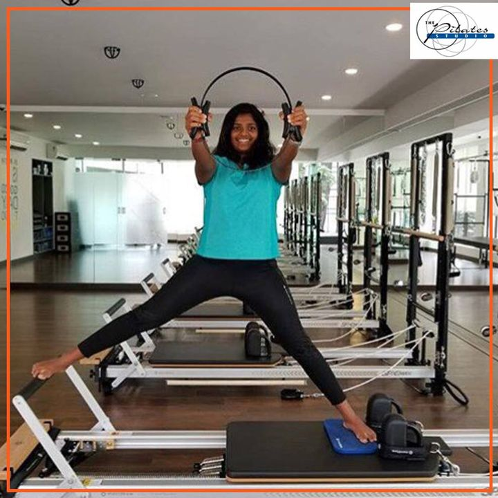 Theres nothing like a good relaxing stretch on a Monday Morning! 🤸🏼♀️  Tanvi Jagdish (India's Female SUP racer & National Champion | International Surfer & SUP racer), is doing it so well at #ThePilatesStudio! 🏄🏼♀️💪🏼  For queries and bookings, please contact us: 9099433422/07940040991 www.pilatesahmedabad.in