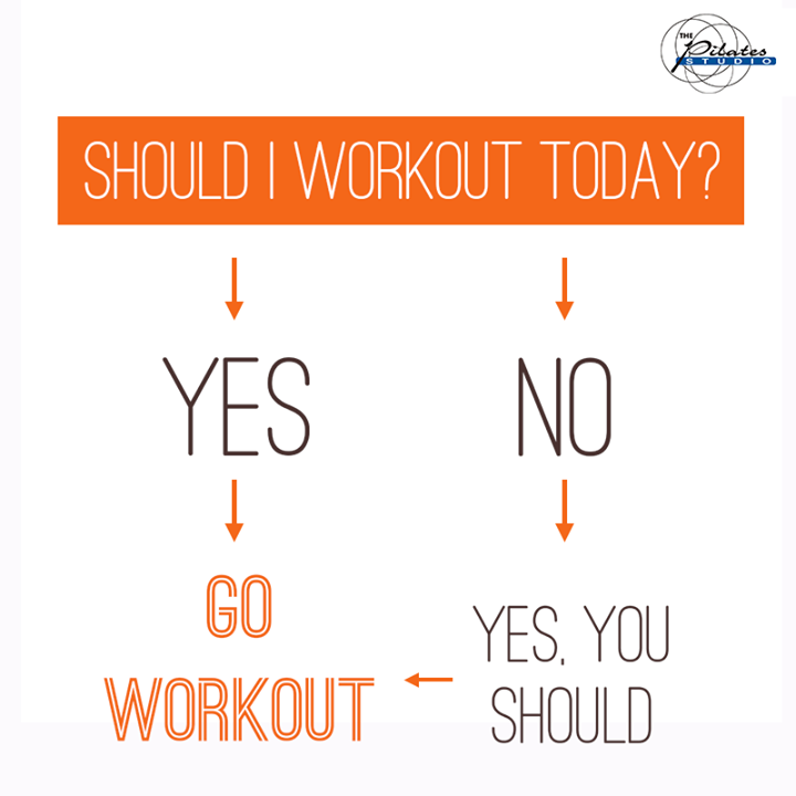 The answer is always YES!  Yes, you should do your #Pilates Today!  For queries and bookings, please contact us: 9099433422/07940040991 www.pilatesahmedabad.in