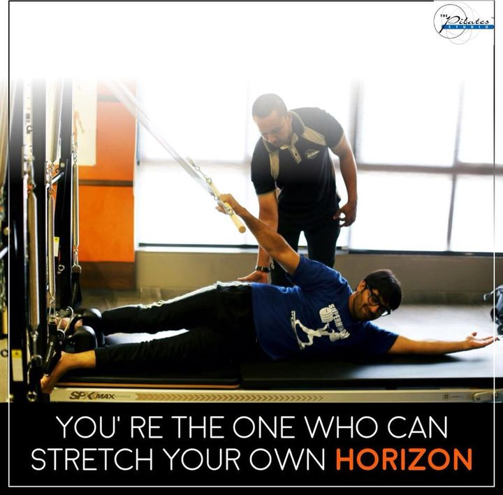"#MondayMotivation: ""There is only one corner of the universe you can be certain of improving, and that's your own self.""  Contact us for queries on: 9099433422/07940040991 www.pilatesaltitude.com"