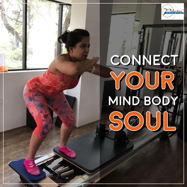 #FriyayFitness: The mind, body & soul connection is a wondrous thing.   Understanding, supporting, and tapping into its power are three pillars of holistic healing and manifesting your true desires.💪🏼♥️   Contact us for queries on: 9099433422/07940040991 www.pilatesaltitude.com