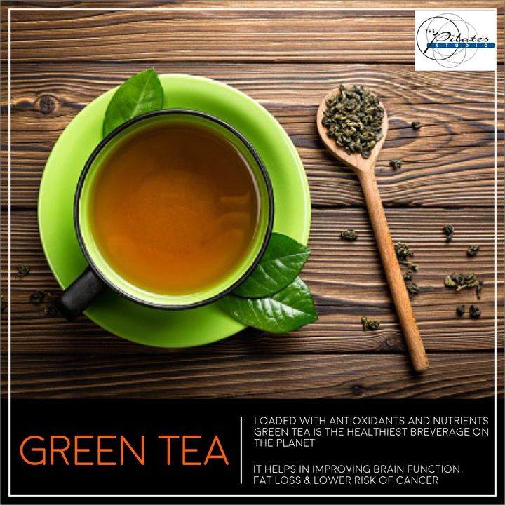 #SundayHealthTip: Sip on some #GreenTea and have a peaceful & a lovely Sunday! :)  Contact us for queries on: 9099433422/07940040991 www.pilatesaltitude.com