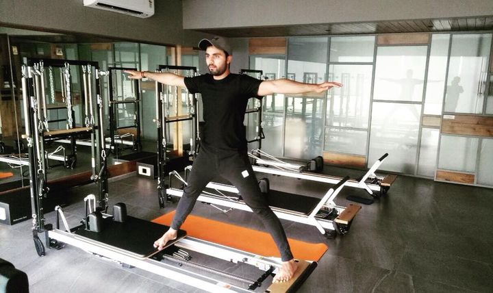 #RealMenDoPilates:  5 Reasons Men Should Do Pilates 💪🏼   1. Pilates often helps develop neglected muscles   2. Improves flexibility  3. Pilates forces you to play close attention to your breath while working through each and every movement to ensure proper form.   4. It is a total body workout. Your core isn't just your abs — it's your entire body from your diaphragm all the way to your pelvic floor.   5. Pilates helps to strengthen the postural muscles that will ease that pain, and also allow you to sit or stand tall throughout your workday.   Contact us for queries on: 9099433422/07940040991 www.pilatesaltitude.com