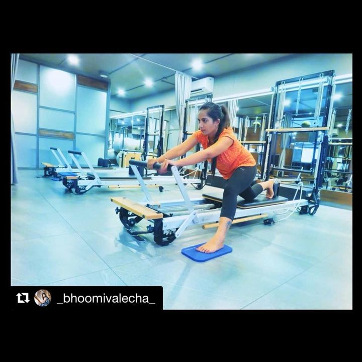 #ClientDiaries: Check what #BhoomiValecha has to say about #Fitness:-  Repost from #BhoomiValecha:- ・・・ Fit is not a destination, it's a way of life 💯   Contact us for queries on: 9099433422/07940040991 www.pilatesaltitude.com