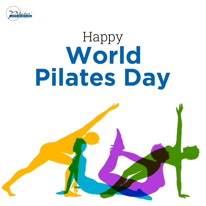 #PilatesDay spotlights the joy experienced through Pilates in health, community and quality of life.  Let's celebrate this special day, today and everyday. Lets make fitness a lifestyle. 💪🏻 #HappyWorldPilatesDay . . . . . .  #Pilates #PilatesCommunity #Fitness #FitnessEnthusiasts #HealthTips #EatHealthy #Stretch #WorkOut  #Graceful #Relax #FitnessMotivation #InstaFit  #Fitspo  #ThePilatesStudio #Strength  #PilatesGirl  #WorkoutMotivation #fitness #Exercise #WorkoutFromHome #WorkoutAtHome  #PilatesDay #InternationalPilatesDay #WorldPilatesDay
