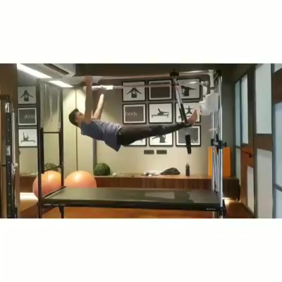 #RealMenDoPilates: Our fit client is beating those monday blues with a beautiful workout on the Cadillac. . . Discover the incredible benefits that Pilates has for men , whether you're a professional athlete or just new to fitness.Train Smart at @thepilatesstudiohyderabad 🔥 . . Contact us for queries on: 9099433422/07940040991 www.pilatesaltitude.com . . . . #Pilates #PilatesCommunity #Fitness #FitnessEnthusiasts #HealthTips #EatHealthy #Stretch #WorkOut #ThePilatesStudio #Graceful #Relax #FitnessMotivation #InstaFit #StottPilates #FitnessStudio #Fitspo #Motivation #Happy #monday