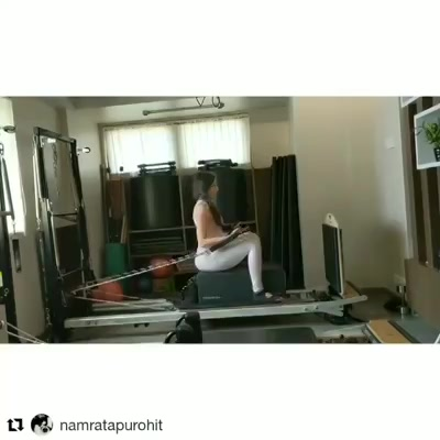 Release, Allow, Flow and Grow. Where there's focus there's a flow of energy 🌊 . . #Repost @namratapurohit (@get_repost) ・・・ Just going with the flow on the Reformer... It feels so good to just move freely, to move as your heart pleases and to just enjoy the movement and work 💪🏻😁🥰 . . .  Contact us for queries on: 9099433422/07940040991 www.pilatesaltitude.com . . . #NamrataPurohit #OriginalPilatesGirl  #Pilates #ThePilatesStudio #BollyWood #CelebrityTrainer #YoungestCelebrityInstructor #FitnessEnthusiast #Fitness #workout #fit #motivation #bollywood #bollywoodstyle #celebrity #InstaFit #FitnessStudio #Fitspo  #Workout #WorkoutMotivation #fitness  #ahmedabad #india #igers #insta #fitnessjourney #beingfit #healthylifestyle