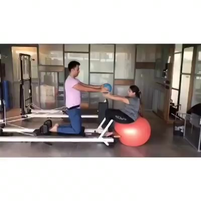 #WednesdayMood: This is how our day looks like at The Pilates Studio - Ahmedabad🧡 . . Monisha Punjabi and her husband in the midst of an amazing couple workout 😍 . . Contact us for queries on: 9099433422/07940040991 www.pilatesaltitude.com . . .  #Pilates #PilatesCommunity #Fitness #FitnessEnthusiasts #HealthTips #EatHealthy #Stretch #WorkOut #ThePilatesStudio #Graceful #Relax #FitnessMotivation #InstaFit #StottPilates #FitnessStudio #Fitspo  #ThePilatesStudio #Strength #pilates #PilatesGirl #ahmedabaddiaries #Workout #WorkoutMotivation #fitness  #ahmedabad #india #igers #instaahmedabad