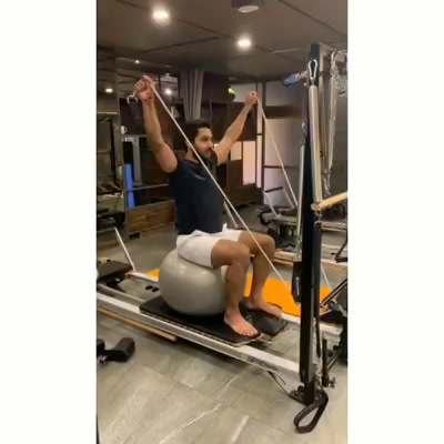 RealMenDoPilates: Our super fit client is tackling the stability ball and beating the blues too with this challenging workout on the Reformer..🔥 . . This works on the posterior deltoids and trapezius muscles and also helps in improving the shoulder mobility. . . Discover the incredible benefits that Pilates has for men , whether you're a professional athlete or just new to fitness.Train Smart at @thepilatesstudioahmedabad 🔥 . . Contact us for queries on: 9099433412/ 9099433422/07940040991 www.pilatesaltitude.com . . . . #Pilates #PilatesCommunity #Fitness #FitnessEnthusiasts #HealthTips #EatHealthy #Stretch #WorkOut #ThePilatesStudio #Graceful #Relax #FitnessMotivation #InstaFit #StottPilates #FitnessStudio #Fitspo #thursdayMotivation #Happy #thursday